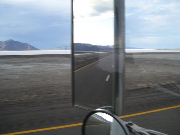 Bonnieville Salt Flats Out Side of Salt Lake City UT