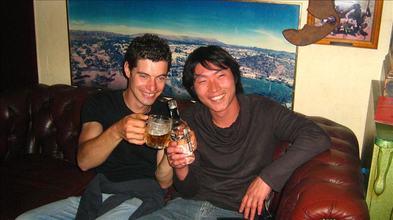 Marco and Ho in Bojangles in Alice