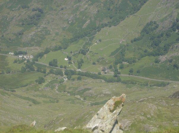 View of Nant Peris