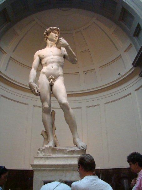 The real David.