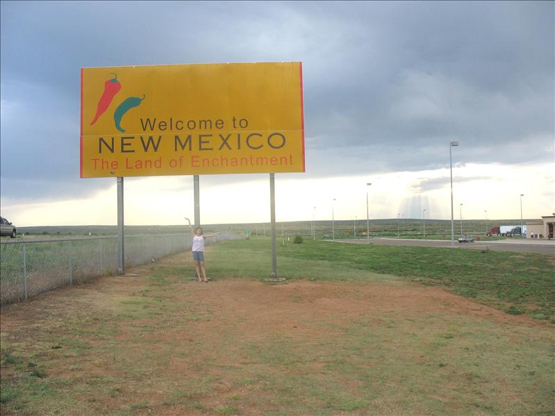 Arriving in the Land of Enchantment