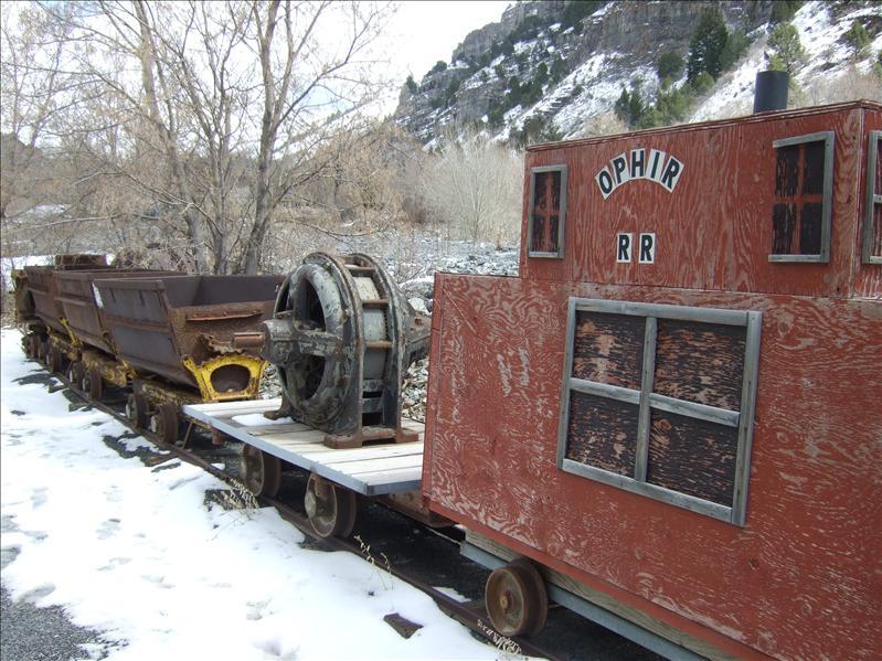 Ophir Ghost Town, Utah