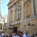 The pump room and roman baths (outside)