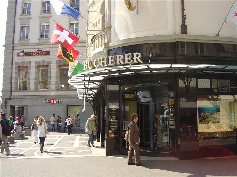 Bucherer company (swiss watches,knives...etc.)