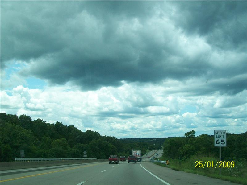 state highway 67 clouds