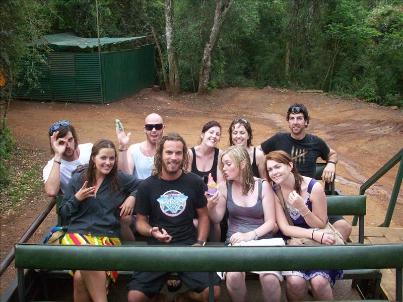 Group Gringo Tour of Argntinian Igazu Falls