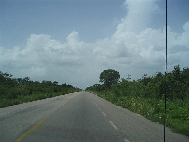 Carretera a Merida