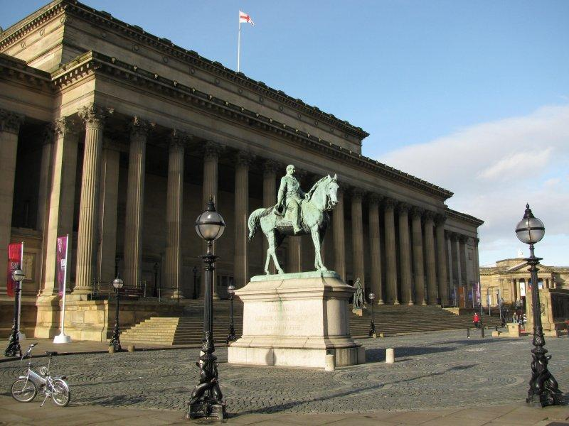 St Georges Hall in Liverpool where ....