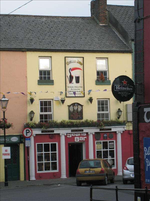 Oldest bar in Ireland