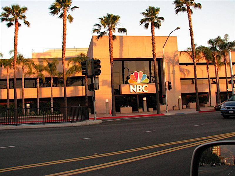 NBC Studios where the Tonight Show with Jay Leno is filmed