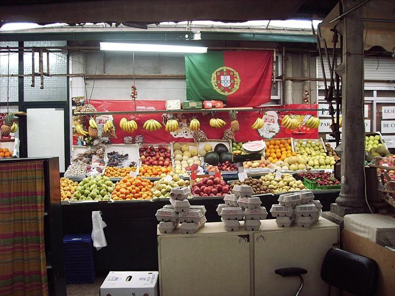 Mercado de Bolhao Oporto