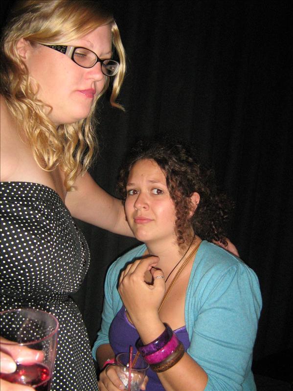 Claire and Lauren