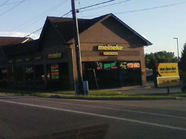a Meineke auto repair location