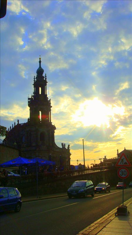 dresden sunset