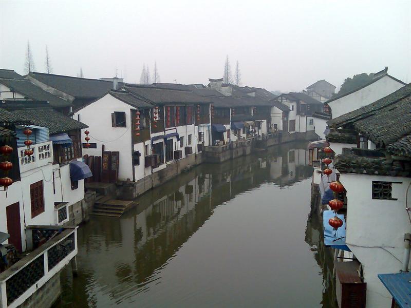 应该算是典型的江南水乡吧