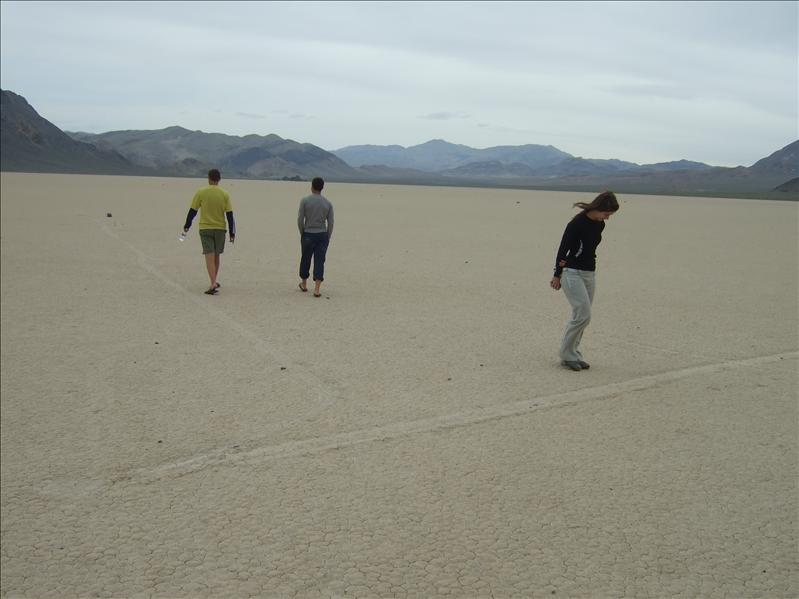 The Racetrack, Death Valley, California