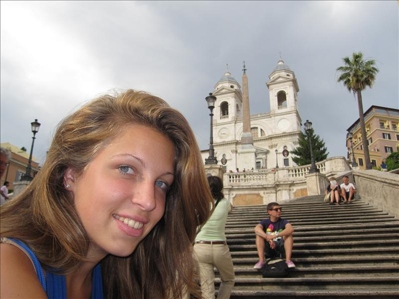 Spanish Steps,Rome - nothing spectacular