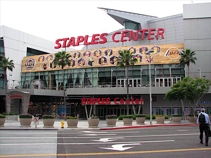 Staples Center, Home of the LA Lakers