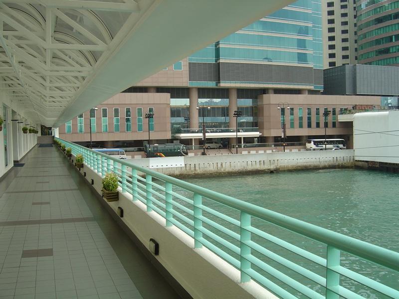 """Pacific Membership Club"" in 'Ocean Terminal"" building."