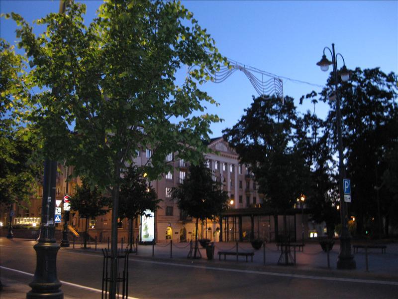 Vilnius at 4.00 a.m.