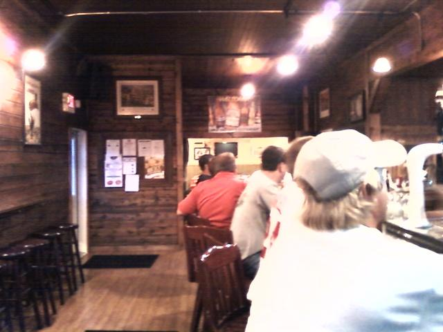 patrons inside the newly renovated bar