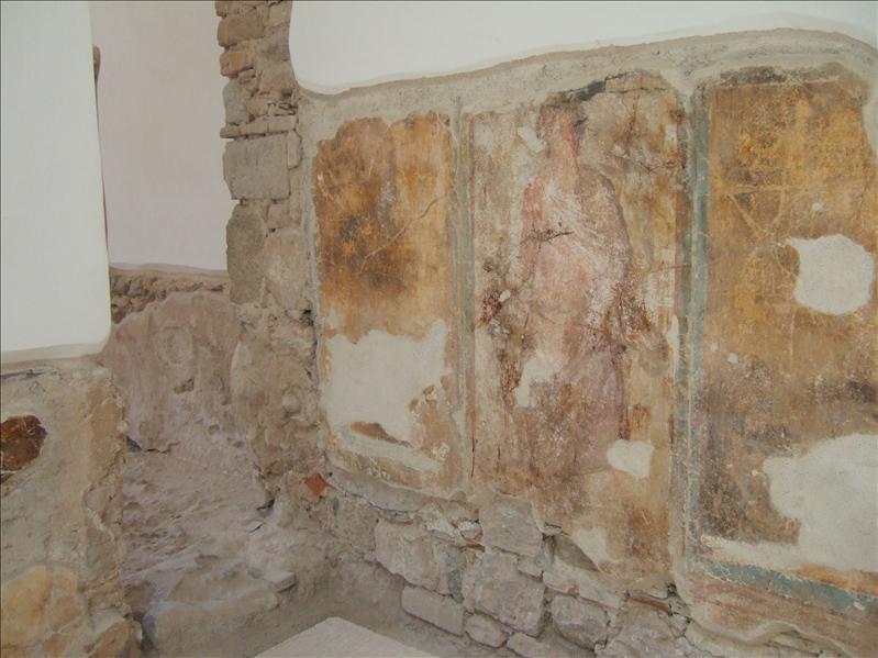 Kos Town - Restored Roman House