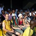 Ghana vs Sudan - Ash, Elliot, Benita und Alex