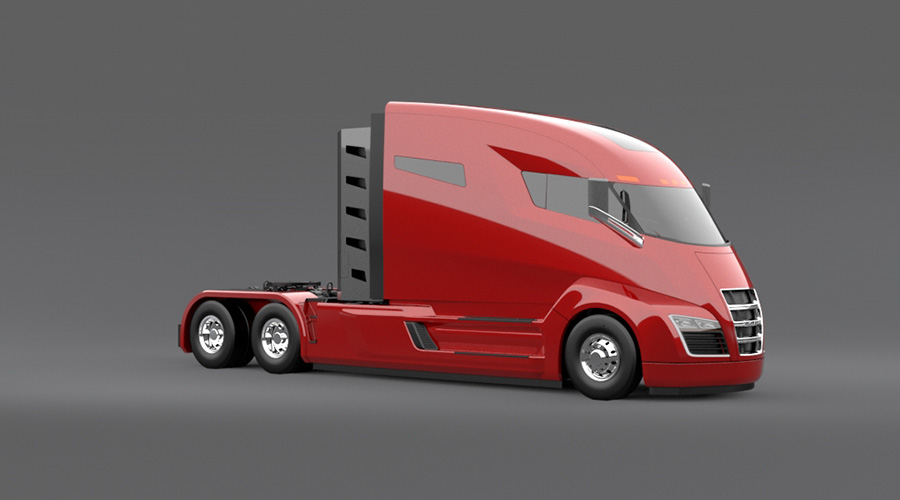 Nikola switches to hydrogen for emission free electric for Electric motor repair salt lake city