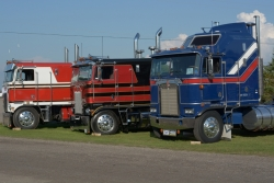 Displayed trucks came from as far afield as Virginia and New Brunswick.