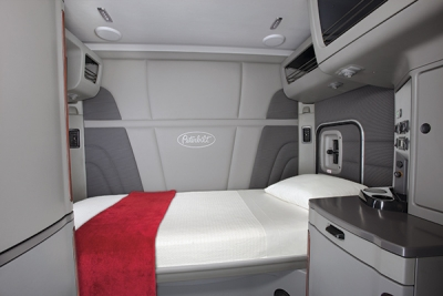 Consider mattress size and internal structure. (Peterbilt photo)