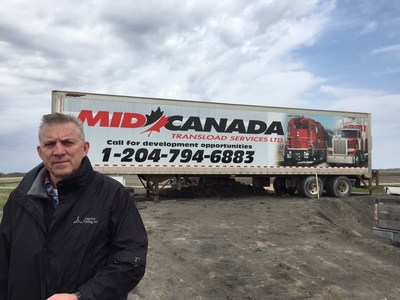Real Tetrault of Mid Canada Transload Services