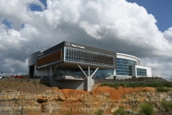 About 3,000 people are scheduled to visit the new customer center in coming weeks.