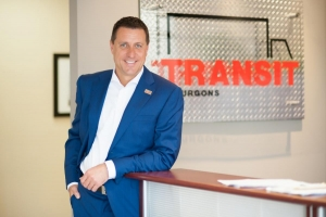 Louis Leclair, president and owner of TRANSIT Truck Bodies