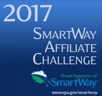 Penske Truck Leasing has been honored by the U.S. EPA with a 2017 SmartWay Affiliate Challenge Award.