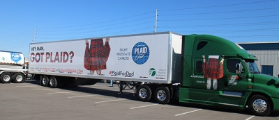 Steed Today's Trucking plaid dad