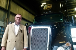 UPS Canada driver Brent Riel has 25 years accident free on the road