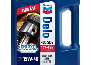 New oils, new labelling: Chevron Delo 400 SDE 15W-40