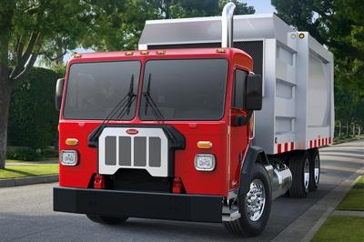 Peterbilt's new Model 520 refuse truck