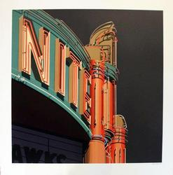 2009 ROBERT COTTINGHAM SCREENPRINT HAND SIGNED, NITE