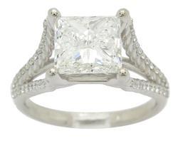 GIA Certified 3.00 Carat+ Diamond Ring