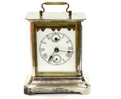 Antique Brougham Watch With Key