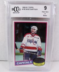 Mike Gartner, Capitals Hockey Card, 9NM