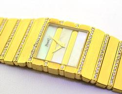Ladies Piaget Polo Watch with Diamonds