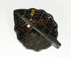 DAZZLING ARTISAN HAND CRAFTED PAINTED MOSAIC TILED TRAY