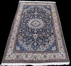 SIMPLY GORGEOUS DARK TONED PERSIAN NAIN WITH SILK