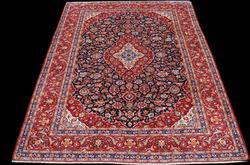 Rare Dark Toned Very Beautiful Persian Kashan