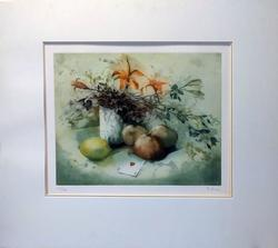France Hilon L.E. lithograph