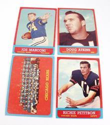 4 Chicago Bears 1963 Football Cars