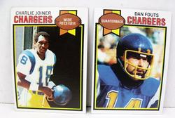 2 San Diego Chargers Football Cards