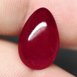Liquid luster 11.66ct Ruby cabochon